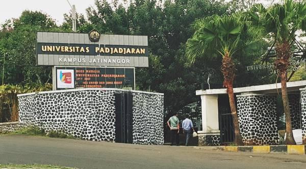 Bagian Depan Universitas Padjajaran Kampus Jatinangor