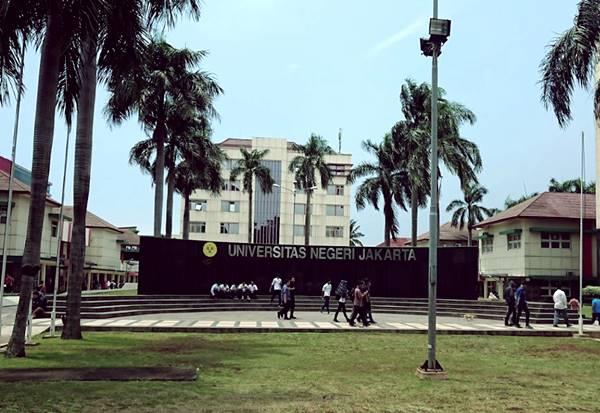 Bangunan Rektorat Universitas Negeri Jakarta