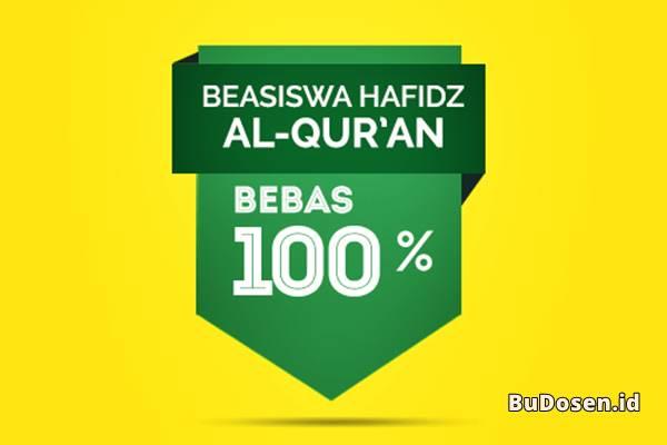 Dapatkan Fasilitas Bebas Uang Gedung dan UKT dengan Menjadi Penerima Beasiswa Hafidz Al-Quran