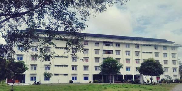 Gedung Asrama Putri Di Universitas Pattimura Maluku