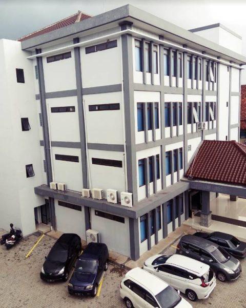 Gedung Kuliah Beberapa Jurusan di FKIP UNSIL 2021