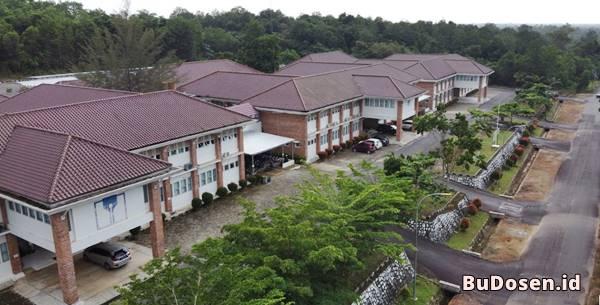 Gedung Kuliah Beberapa Jurusan di Fakultas Pertanian dan Perikanan UBB