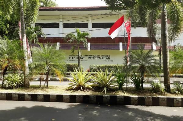 Gedung Kuliah Beberapa Jurusan di Fakultas Peternakan UNSRAT Manado