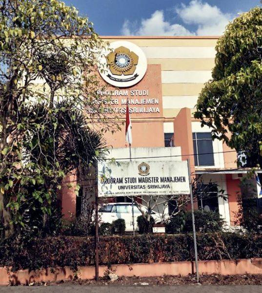 Gedung Kuliah Beberapa Jurusan Di Program Pascasarjana Manajemen UNSRI 2021