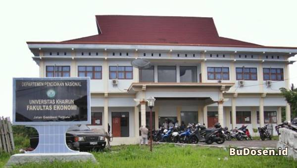 Gedung Kuliah Fakultas Ekonomi Universitas Khairun Ternate