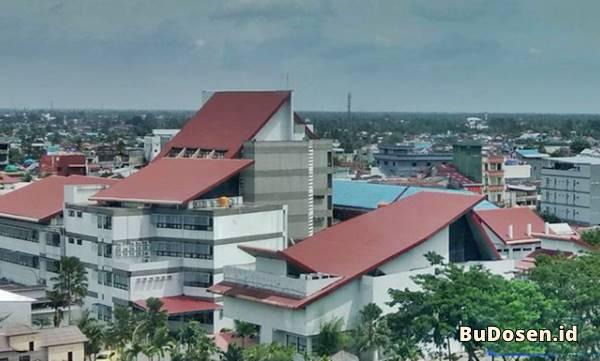 Gedung Kuliah Fakultas Kedokteran Umum dan Kedokteran Gigi ULM Banjarmasin