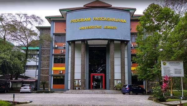 Gedung Kuliah Jenjang Pascasarjana di UNEJ Tahun 2021