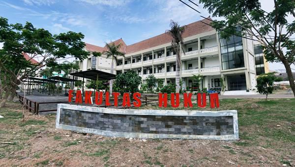 Gedung Kuliah Jurusan Ilmu Hukum Di Utm Bangkalan