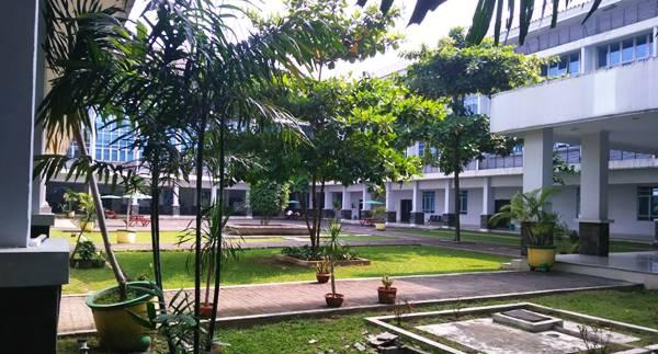 Gedung Kuliah Jurusan Kedokteran Umum Di USU Medan