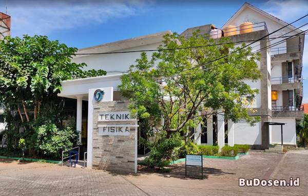 Gedung Kuliah Jurusan Teknik Fisika Institut Teknologi Sepuluh November