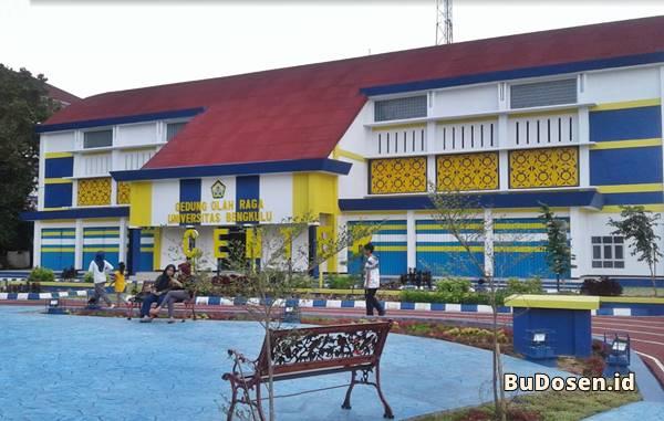 Gedung Olahraga Program Studi Pendidikan Jasmani dan Kesehatan UNIB Bengkulu