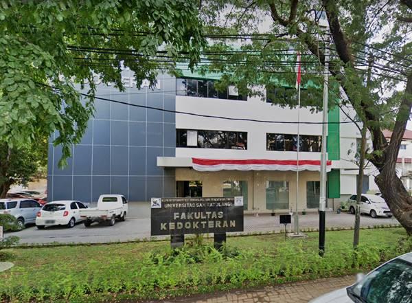 Gedung Perkuliahan Fakultas Kedokteran Di Universitas Sam Ratulangi