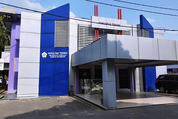 Gedung Perkuliahan Fakultas Teknik Di Universitas Sriwijaya Palembang