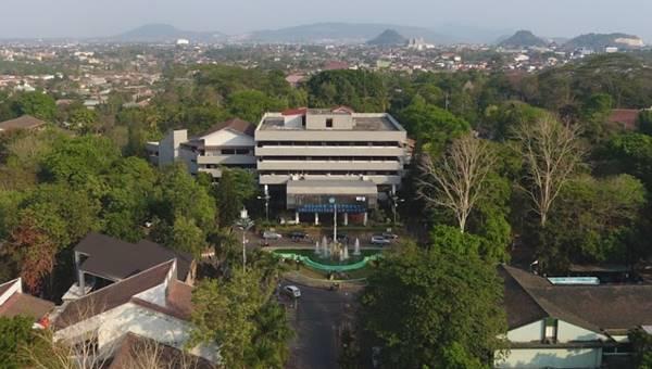 Gedung Rektorat Universitas Lampung