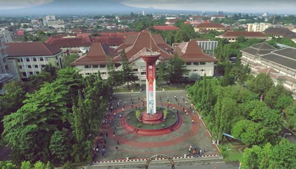 Gedung Rektorat Universitas Negeri Yogyakarta Di Kabupaten Sleman