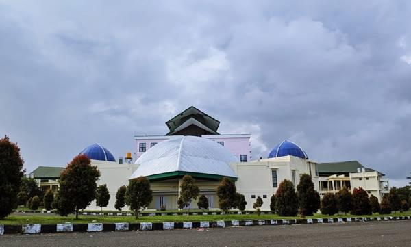 Gedung Rektorat Universitas Papua Di Kampus 1 Monokwari