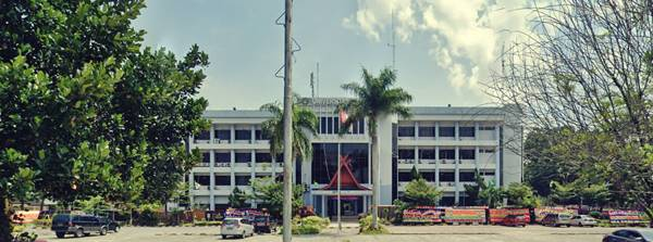Gedung Rektorat Universitas Riau Pekan Baru