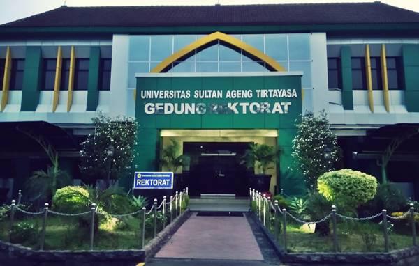 Gedung Rektorat Universitas Sultan Ageng Tirtayasa