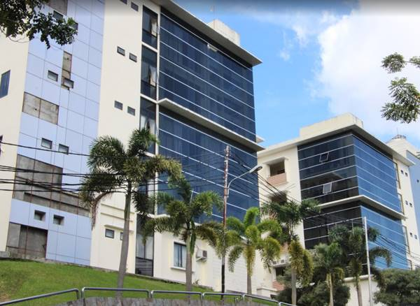 Gedung Sekolah Pascasarjana Unsrat Manado