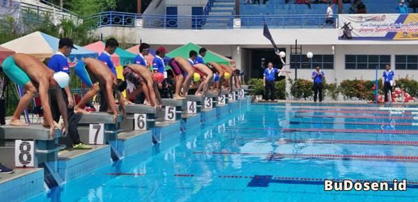 Gelanggang SCC Swimming Pool Milik UNIMED Medan