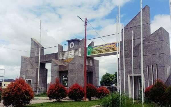 Gerbang Masuk Kampus 2 UNAND Payakumbuh Sumatera Barat