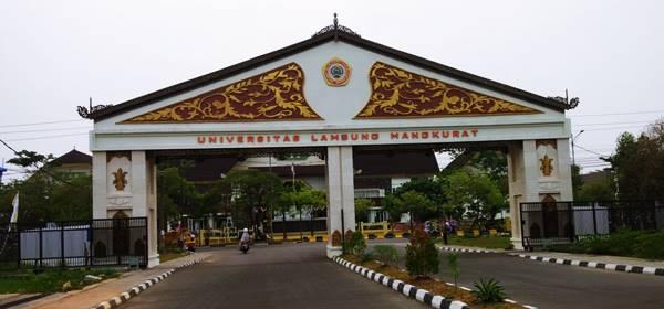 Gerbang Masuk Kampus Universitas Lambung Mangkurat