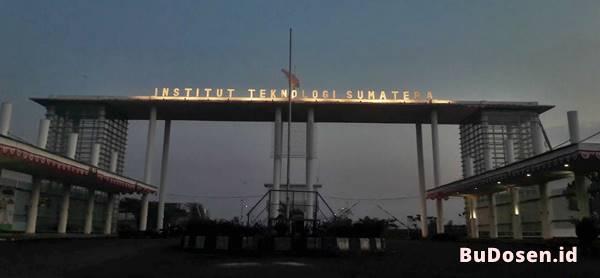 Gerbang Masuk Kawasan Institut Teknologi Sumatera
