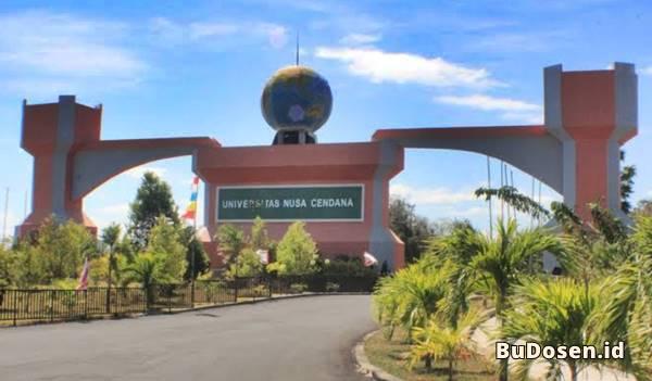 Gerbang Masuk Kawasan Kampus UNDANA Kupang