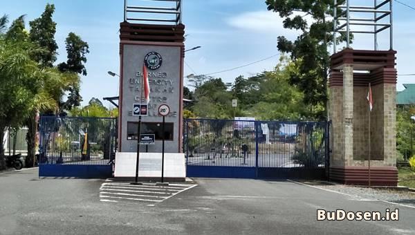 Gerbang Masuk Kawasan Universitas Borneo Tarakan