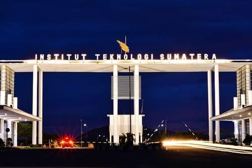Gerbang Utama Itera Institut Teknologi Sumatera