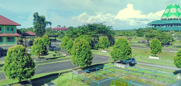 Gambar Halaman Kampus Universitas Teuku Umar Nanggro Aceh Darussalam