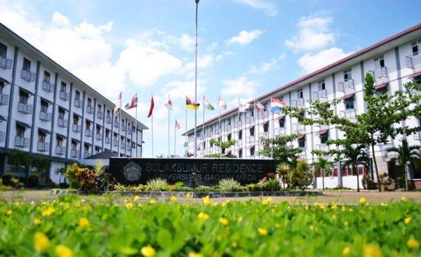Gedung Asrama di Universitas Gadjah Mada Jogja