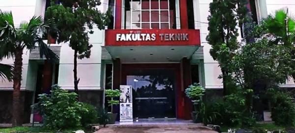 Kampus Perkuliahan Beberapa Jurusan di Fakultas Teknik UNSIKA Karawang