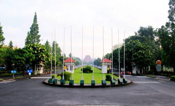 Taman Kampus Universitas Gadjah Mada Yogyakarta
