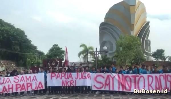 Orasi Aksi Solidaritas Mahasiswa UMRAH Tanjungpinang