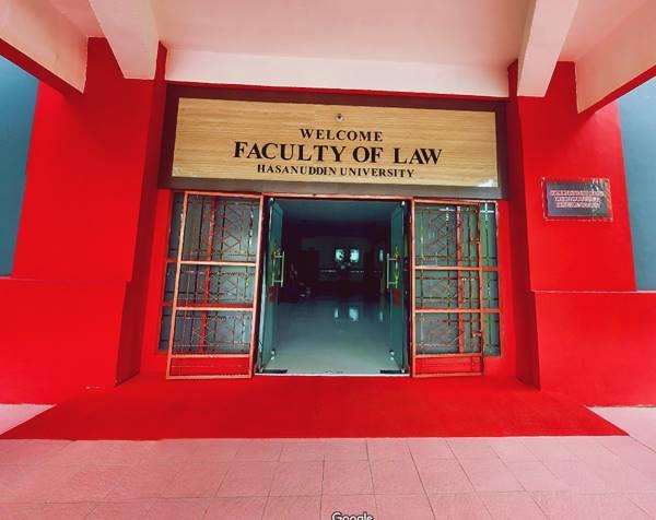 Pintu Masuk Gedung Perkuliahan Salah Satu Jurusan di UNHAS (Prodi Ilmu Hukum)