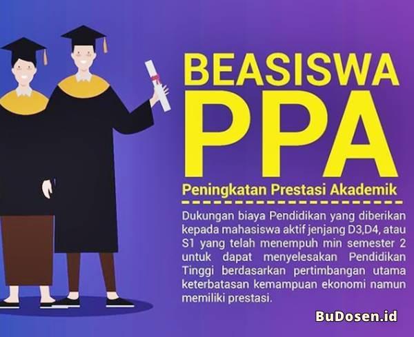 Program Beasiswa PPA yang Diselenggarakan oleh Kemendikbud RI