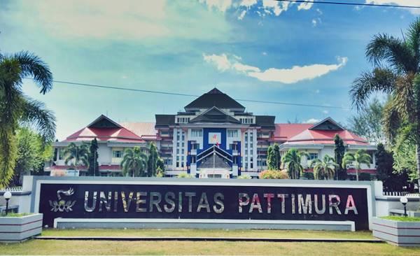 Rektorat Universitas Pattimura di Kota Ambon, Maluku