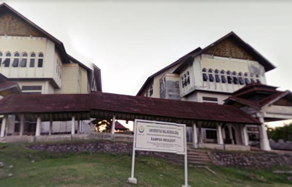 Salah Satu Gedung Pendidikan Jurusan di UNIMAL Lhokseumawe Aceh