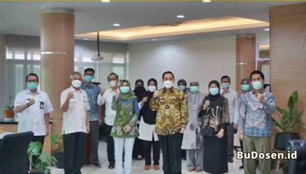 Salah Satu Kerjasama Antara FK UNTIRTA dan Dinas Kesehatan Provinsi Banten Dalam Penanggulangan COVID-19