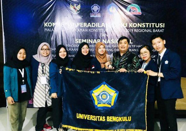 Salah Satu Prestasi Mahasiswa Universitas Bengkulu