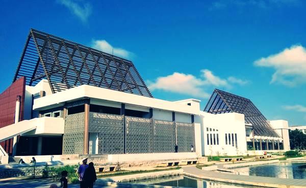 Taman Rektorat Untan Tempat Ikonik Di Kampus Universitas Tanjungpura