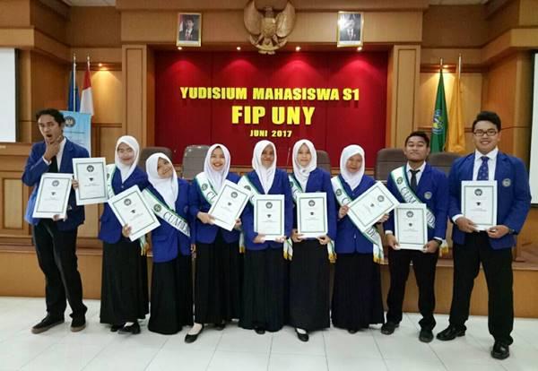 Yudisium Mahasiswa S1 FIP Universitas Negeri Yogyakarta